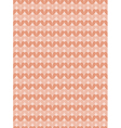 Knitting seamless pattern vector image