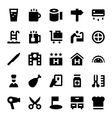 Hotel Services Icons 2 vector image