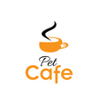 pet cafe vector image