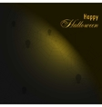 Background with spiders and webHappy halloween vector image