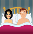 Sex bedroom vector image