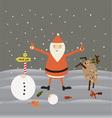 Christmas baclground vector image