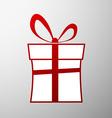 Gift box Stock vector image