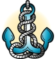 Anchor Tattoo Art vector image vector image