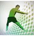 Sports karate vector image