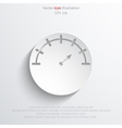 manometer web icon vector image