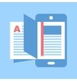 e-books vector image