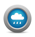 Cloud button for your design vector image