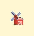 flat icon farm element of vector image