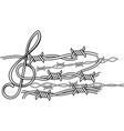 prison music vector image