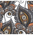 Ethnic ornamental pattern vector image