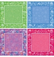 Holiday Christmas backgrounds set vector image vector image