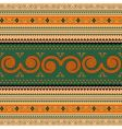 Thailand traditional pattern vector image