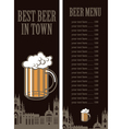 best Beer vector image vector image