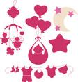 BabyNewBorns 5 vector image