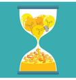 Sand Time Money Idea vector image