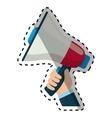 Bullhorn announce device vector image