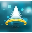 Modern xMas tree background EPS 10 vector image