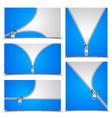 Zipper Collection vector image