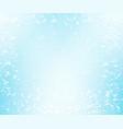 pale blue speckled background vector image vector image