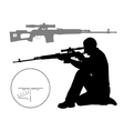 Hunter vector image