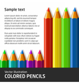 ColoredPencils vector image