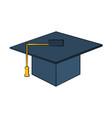 graduation cap icon image vector image