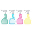 set of cleaning spray icon vector image