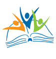 Success education logo vector image