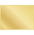 golden background with border vector image vector image