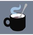 CupWithTeaspoon vector image vector image