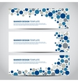 banners dotted vector image