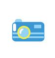 digital camera technology equipment object vector image
