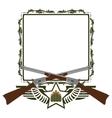 Icon Winchester vector image