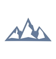 mountain icon1 vector image