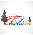fashion girl stock vector image