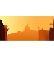Barcelona - Tibidabo vector image