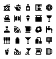 Hotel Services Icons 7 vector image