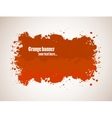 Abstract gunge banner vector image