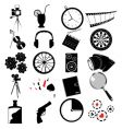 various web icons vector image