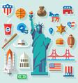 USA Symbols vector image