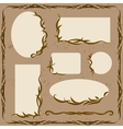 Decorative Frames and Ornaments vector image