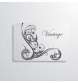 visiting card vector image vector image
