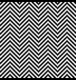 black and white chevron pixel art seamless pattern vector image vector image