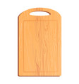 colorful of cutting board vector image