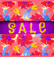 torn paper summer sale vector image