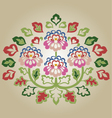 fancy flower vector image vector image
