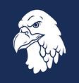 Eagle Head Silhouette vector image