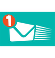 Mail Notification Icon vector image