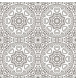 seamless doodle pattern ethnic motives zentagl vector image
